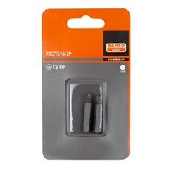 Carton 2 Puntas Torq-Set 5/16 32 mm 5/16 70S/TS5/16-2P Herramientas BAHCO