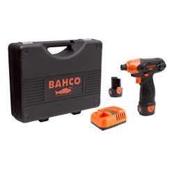 "12V 1/4"" compact impact driver with quick release hex drive kit BCL311S1K1 Herramientas BAHCO"