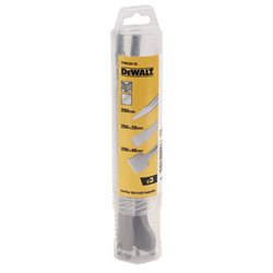 Juego SDS-Plus: Puntero 250mm + Cincel plano 20x250mm +Cincel plano 40x250mm Herramientas Dewalt