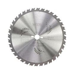Hoja para sierra circular estacionaria 216x30mm 24D ATB -5º Herramientas Dewalt