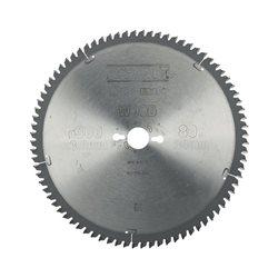 Hoja para sierra circular estacionaria 300x30mm 80D TCG -5º Herramientas Dewalt