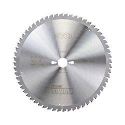 Hoja para sierra circular estacionaria 305x30mm 60D ATB -5º Herramientas Dewalt