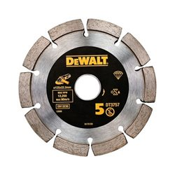 Disco de diamante para mortero 125x22.2mm - Diseño de doble disco Herramientas Dewalt