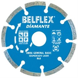 DISCO DIAMANTE SEGMENTADO 115 SLE SEGMUELALASER Herramientas BELFLEX