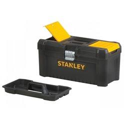 """Caja de herramientas de plástico 16""""/40cm con cierre de metal Herramientas STANLEY"""