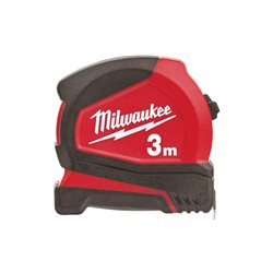Flexómetro PRO 3m x 16mm métrica 4932459591 Herramientas Milwaukee