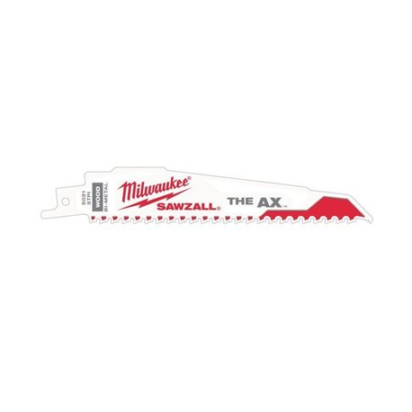 H.SABLE THE AX 300MM 5TPI - 25UDS Herramientas Milwaukee