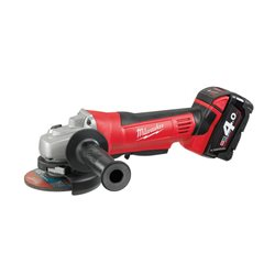 Amoladora 18 v 4,0 Ah litio disco 115mm Herramientas Milwaukee