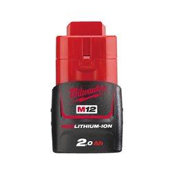 Red Lithium-Ion 12v - 2,0 Ah Herramientas Milwaukee