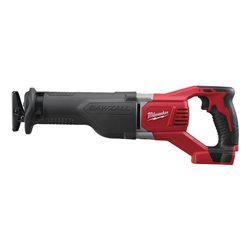 Sierra Sable 18 V 4,0 ah Litio, 3000 gpm, curso 28mm Herramientas Milwaukee