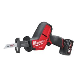 Sierra Sable 12 V FUEL 6,0 ah Litio Fixtec Herramientas Milwaukee