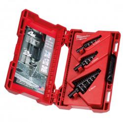 Broca escalonada Shockwave™ kit de 3 unidades4 a 12mm - paso de 1mm4 a 20mm - paso de 2mm4 a 30mm - paso de 2 y 3mm Herramientas Milwaukee