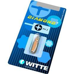 WITTE 26635 - Puntas DIAMOND en blíster (PH3 BITFLEX) Herramientas Witte