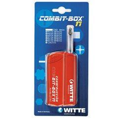 WITTE 27775 - Caja de puntas de atornillar COMBIT-BOX 17 blíster (Tipo Mecánico) Herramientas Witte