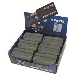 WITTE 27749 - Caja de puntas de atornillar COMBIT-BOX 17 granel (Tipo TiN) Herramientas Witte