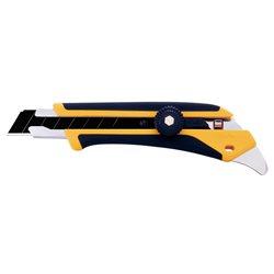 OLFA L5 - Cúter con bloqueo manual, mango antideslizante, púa de metal duro y cuchilla de 18 mm Herramientas Olfa