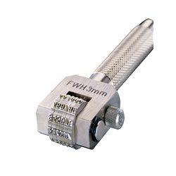 GRAVUREM 180.4 - Numeración Compact Marker de 6 ruedas del 0 al 9 (4 mm) Herramientas Gravurem