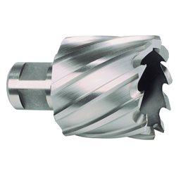 RUKO 108222 - Broca hueca HSS - vástago Weldon - profundidad 30 mm ( Ø 22 mm ) Herramientas Ruko