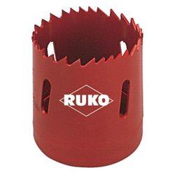 RUKO 106028 - Corona perforadora - HSS - bimetal - dentado variable ( Ø 28 mm ) Herramientas Ruko