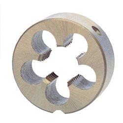 RUKO 237040 - Cojinete redondo M DIN EN 22568 HSS, rectificado - Tipo B cerrado - Rosca M 4 Herramientas Ruko