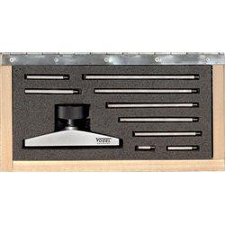 VOGEL 240525 - Juego de puente para medidas de profundidad y alargos - Medidas puente 80 (Art.24 0511) mm - Extensiones 10,20,3 Herramientas Vogel