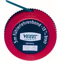 VOGEL 455070 - Rollo fleje calibrado 5 metros x 13 mm Espesor 0,7 mm Herramientas Vogel