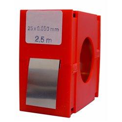 RECORD-463500-R.fleje calb.inox 2500x25x0,50 Herramientas Vogel