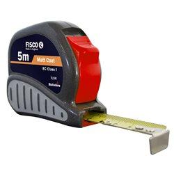 FISCO TV5M-SR - Flexómetro clase I con caja ABS con empuñadura de goma TRI-LOK (5x25) Herramientas Fisco