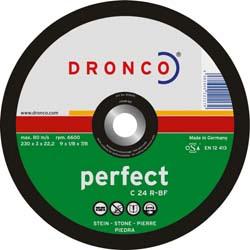 DRONCO C24R-180 - Disco de corte piedra C 24 R Perfect, 180 x 3 mm Herramientas Dronco
