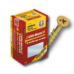 Tornillo de alto rendimiento Ulti-Mate II para MADERA BICROMATADO medidas 2.5x25 mm (caja de 1000 uds.) Herramientas Ulti-Mate II