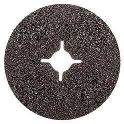INTERFLEX SF581.115.60 - Caja de 25 discos de 115 mm de fibra carburo de silicio (grano 60) Herramientas Interflex