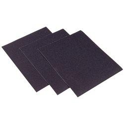 INTERFLEX SWP210C.500 - Caja de 100 hojas de papel de lija al agua carburo de silicio (grano 500) Herramientas Interflex