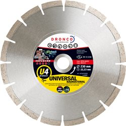 DRONCO U4PROTECT-115 - Disco de diamante Superior U4 Protect - Universal obra Ø 115 mm Herramientas Dronco