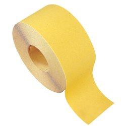 CALFLEX KFP/GOLD100/25.60 - Rollos papel lija Óxido de Aluminio amarillo (100 mm x Gr.60) Herramientas Calflex