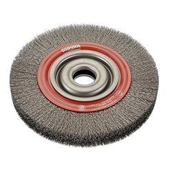 Osborn 9902522342 - Cepillo circular inox de alambre ondulado con agujero multieje y filamento de Ø 0.20 mm (100x20x23 ) Herramientas Osborn