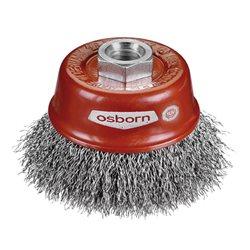 Osborn 0002613141 - Cepillo taza acero de alambre ondulado con tuerca M14 y filamento Ø 0.20 mm (60x20 ) Herramientas Osborn