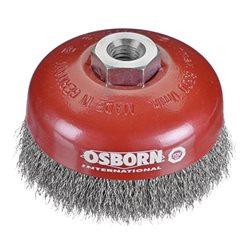 Osborn 0002613163 - Cepillo taza acero de alambre ondulado con tuerca M14 y filamento Ø 0.30 mm (80x30 ) Herramientas Osborn