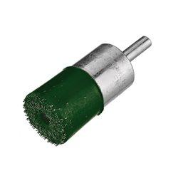 Osborn 0002930912 - Cepillo pincel acero latonado encapsulado con vástago de 6 mm y filamento de Ø 0.30 mm Herramientas Osborn