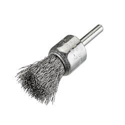 Osborn 2008509062 - Cepillo pincel acero latonado con vástago de 6 mm y filamento de Ø 0.30 mm Herramientas Osborn