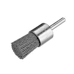 Osborn 9906030488 - Cepillo pincel de filamento abrasivo con vástago de 6 mm Ø 0,90 mm y grano 120 (10x45x25 ) Herramientas Osborn