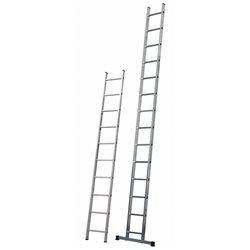GIERRE AL215 - Escalera de apoyo 1 tramo Singola (8 peldaños) Herramientas Gierre