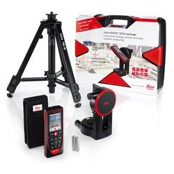 LEICA 823199 - Pack medidor láser Disto D510 + accesorios (Alcance 200 m Precisión ± 1.0 mm) Herramientas Leica Geosystems