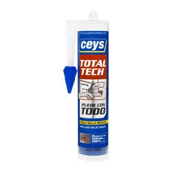 CEYS TOTAL TECH TRANSPARENTE CART. 290ML Herramientas CEYS