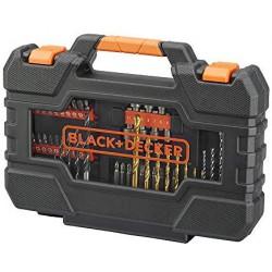 A7231-XJ - Juego de 76 piezas para atornillar y taladrar Herramientas BLACK&DECKER