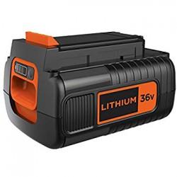 BL2536-XJ - Batería Litio 36V 2,5Ah compatible con todas las herramientas de jardín y limpieza 36V Herramientas BLACK&DECKER