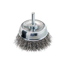 Cepillo de copa 75x0,30 mm/ 6 mm, acero ondulado (630552000) Herramientas METABO