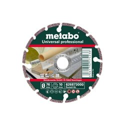 "Disco de cortar de diamante, 76x10,0mm, ""UP"", Universal ""professional"" (626873000) Herramientas METABO"