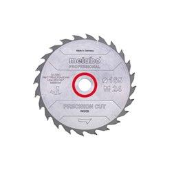 "Hoja de sierra ""precision cut wood - professional"", 160x20, D24 DI 20° (628031000) Herramientas METABO"