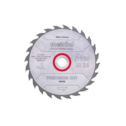 "Hoja de sierra ""precision cut wood - professional"", 160x20, Z42 WZ 15° (628072000) Herramientas METABO"