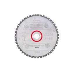 "Hoja de sierra ""precision cut wood - professional"", 220x30, D36 DI 10° (628042000) Herramientas METABO"